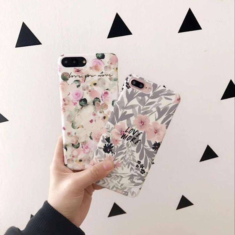 文藝復古花朵iphone 手機殼