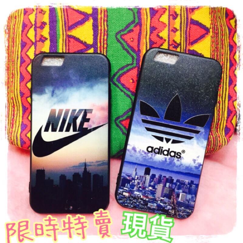 浮雕 超好 品牌潮牌愛迪達adidas 球鞋Nike 軟殼手機殼iphone7