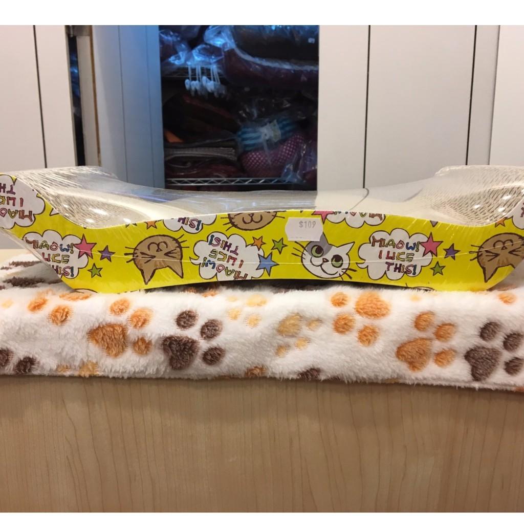 毛孩柑仔店帝王座貓抓板瓦愣紙貓抓板寵物玩具貓玩具磨爪抓板附贈貓薄荷