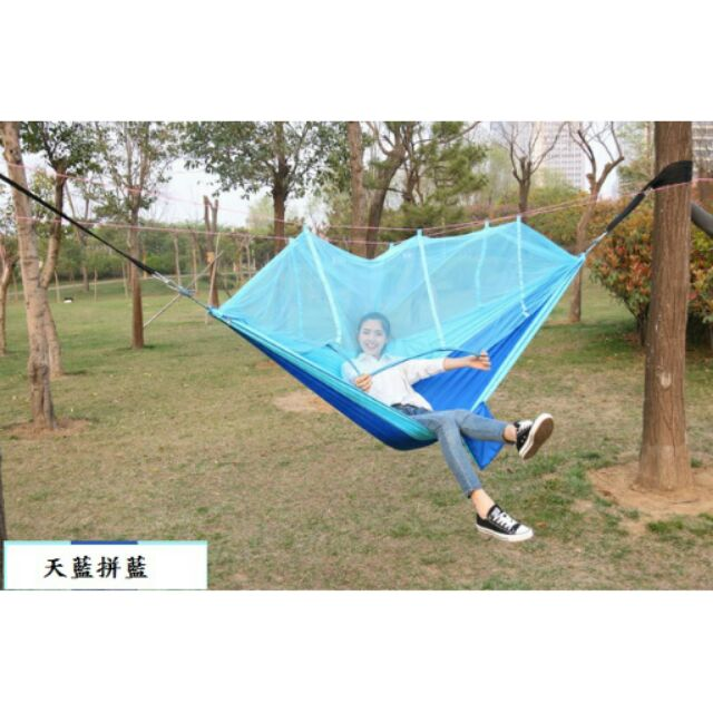 0 7kg 蚊帳吊床降落傘布吊床吊床露營用品戶外用品休閒椅