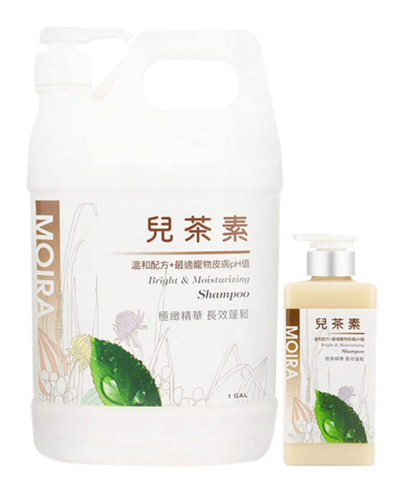 Petroyal 莫伊拉MOIRA 寵物沙龍級進階保養兒茶素極緻精華長效蓬鬆洗毛精500M