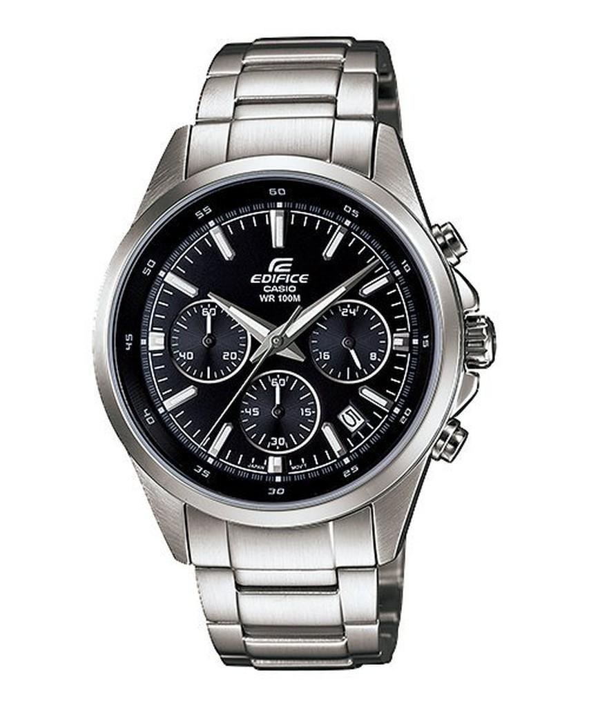 CASIO 簡潔精準的賽車錶款防水100 米、計時碼錶、日期顯示等 EFR 527D 1A