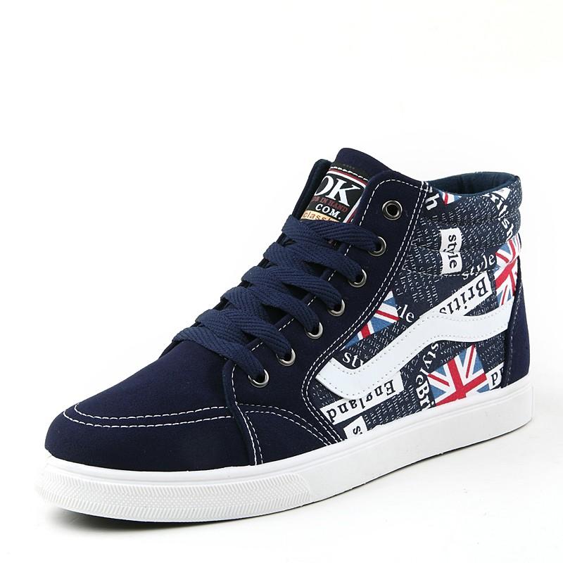 USUN ~男鞋系列~~VANS ~高幫米字旗慢跑 鞋板鞋 休閒鞋39 44 碼