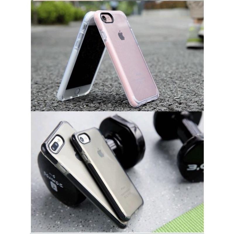 絕對正品ROCK iphone7 手機殼超薄全包防摔蘋果7plus 矽膠套透明簡約