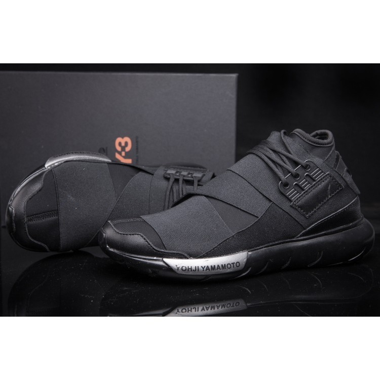 Adidas Y 3 Y3 Qasa High Yohji Yamamoto GD 款黑武