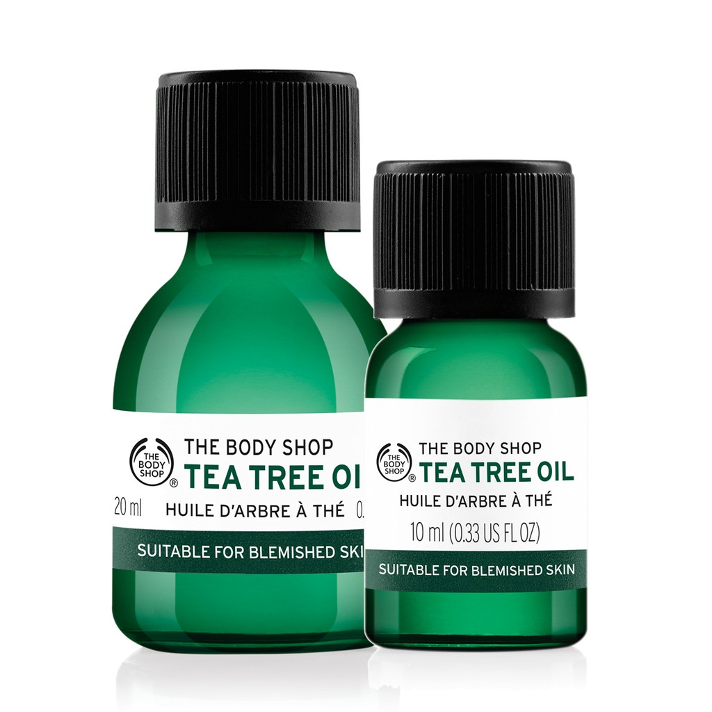 BODY SHOP 美體小舖小罐茶樹精油Tea Tree Oil 10ml