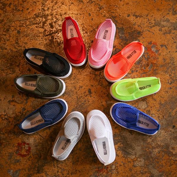 ⓛⓔⓘ 男女寶寶洞洞軟底學步鞋透氣簡約百搭不敗款1 5 歲10 色