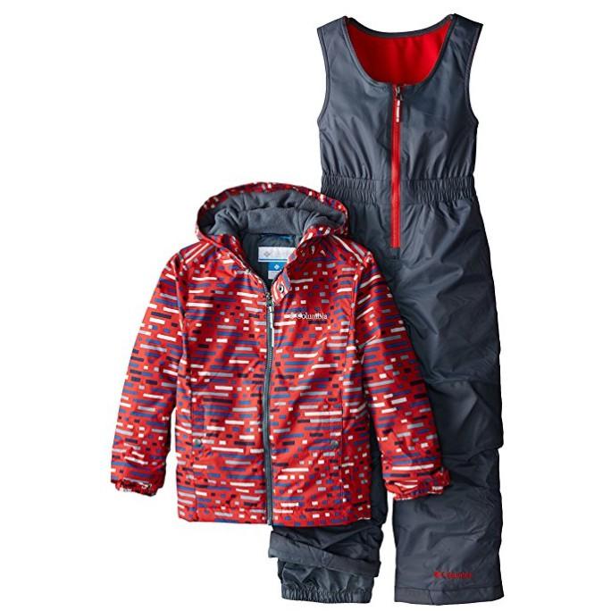美國代購❚男孩 2-4歲 Columbia 防風防水滑雪雪衣+外套 連身雪衣 SB SK