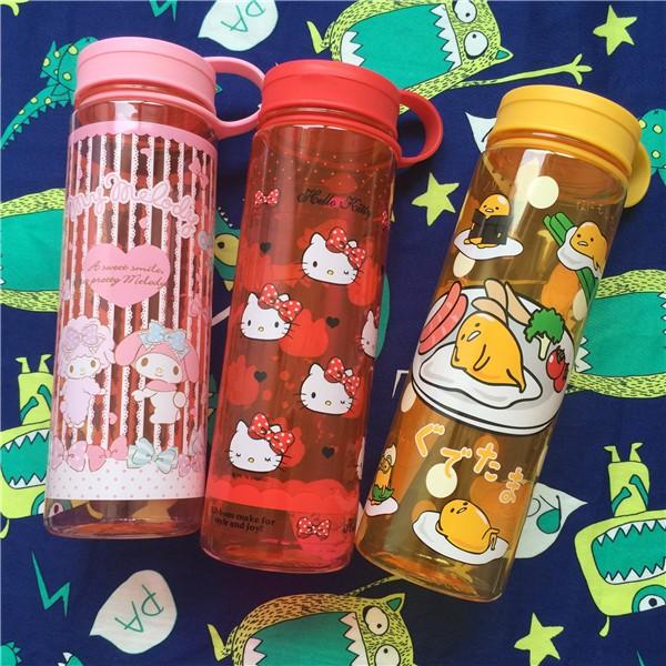 蛋黃哥美樂蒂凱蒂貓Hello Kitty 可愛隨手杯太空杯 杯水壺水瓶