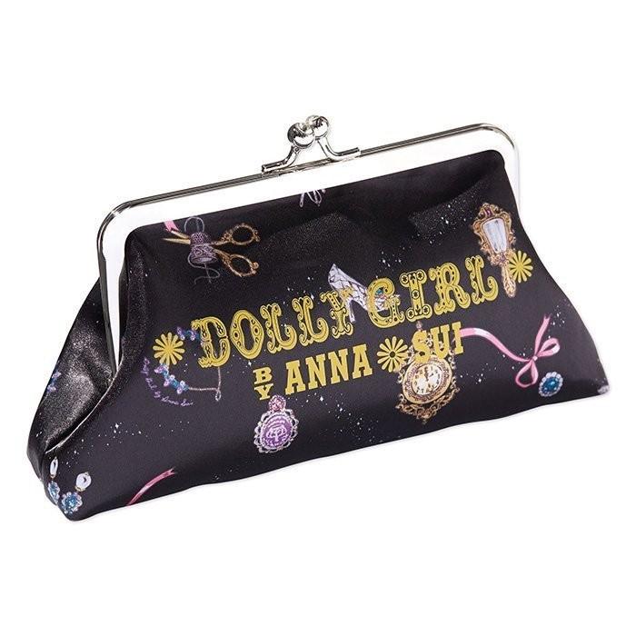 ~兔耳貓~日文雜誌steady 附錄ANNA SUI DOLLY GIRL 穿越口金包