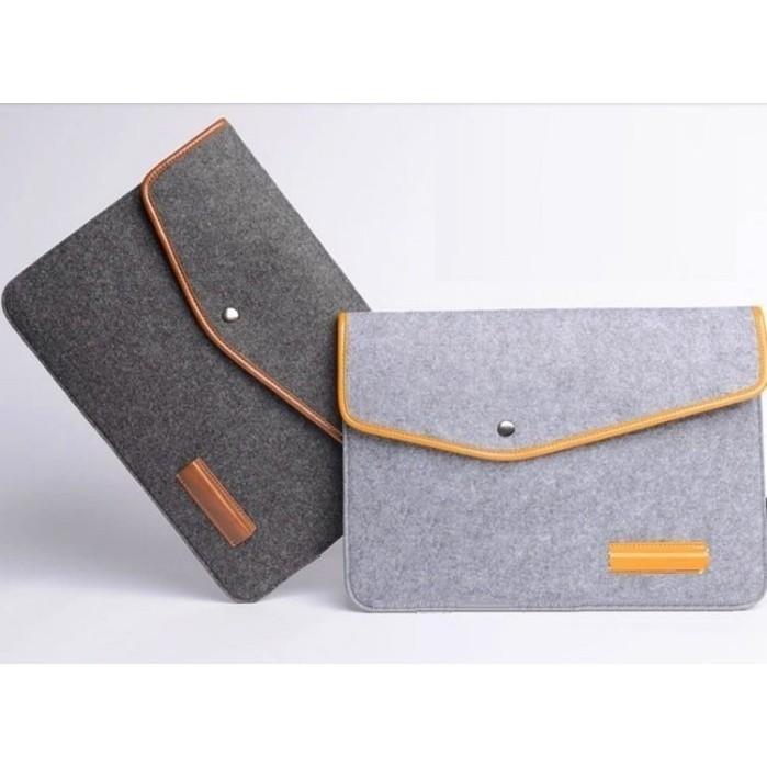 ~D05 ~Apple Macbook Air11 12 吋電腦包內膽包皮套羊毛氈保護套淺