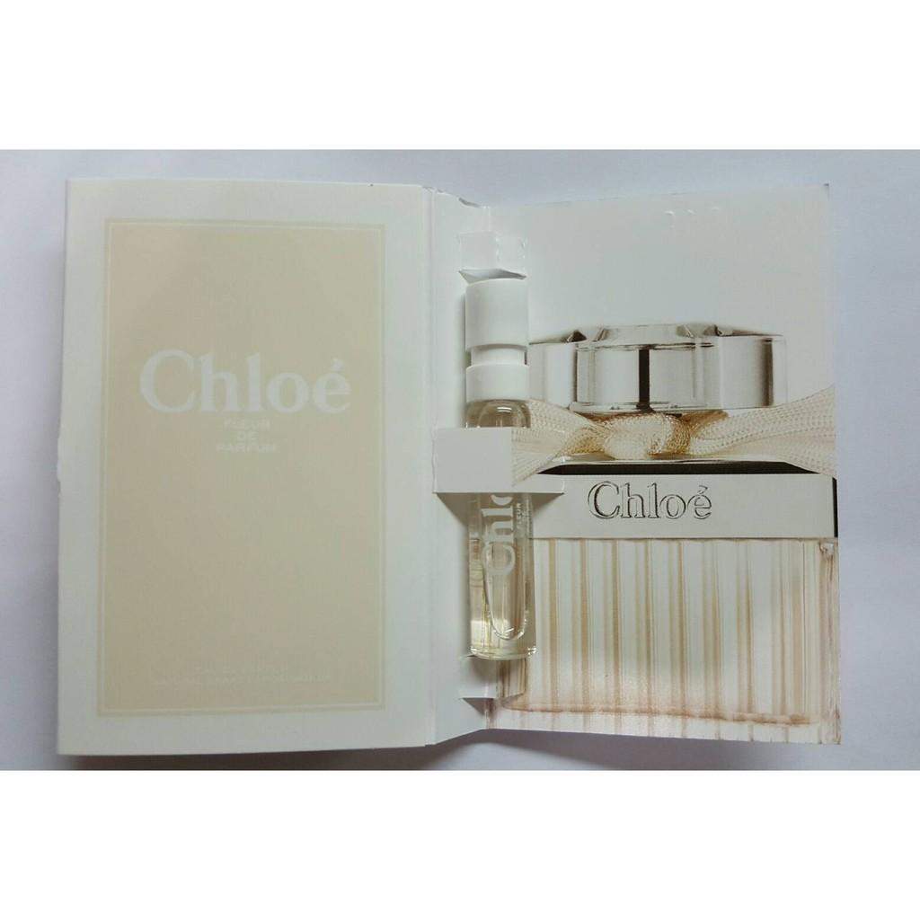 2016 新品Chloe 玫瑰之心淡香精香水試管針管1 2ml