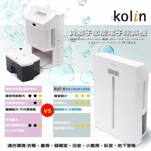 Kolin 歌林負離子電子式微電腦除濕機KJ HC02