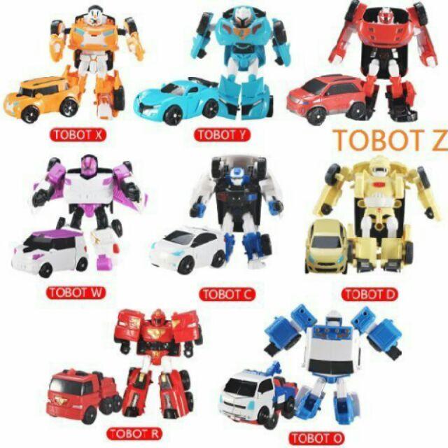 益智玩具~變形車機器戰士變形車變形戰士tobot