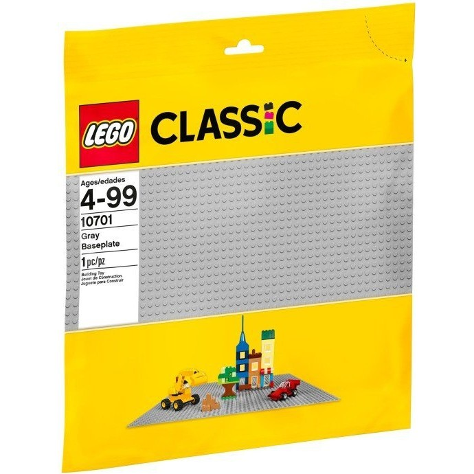 玩具之箱LEGO 樂高積木10701 CLASSIC 系列灰色底板 未拆