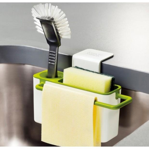 ~大趣味~~吸盤式廚房抹布掛架~廚房 家居掛式廚房置物架瀝水架抹布架瀝水收納盒抹布