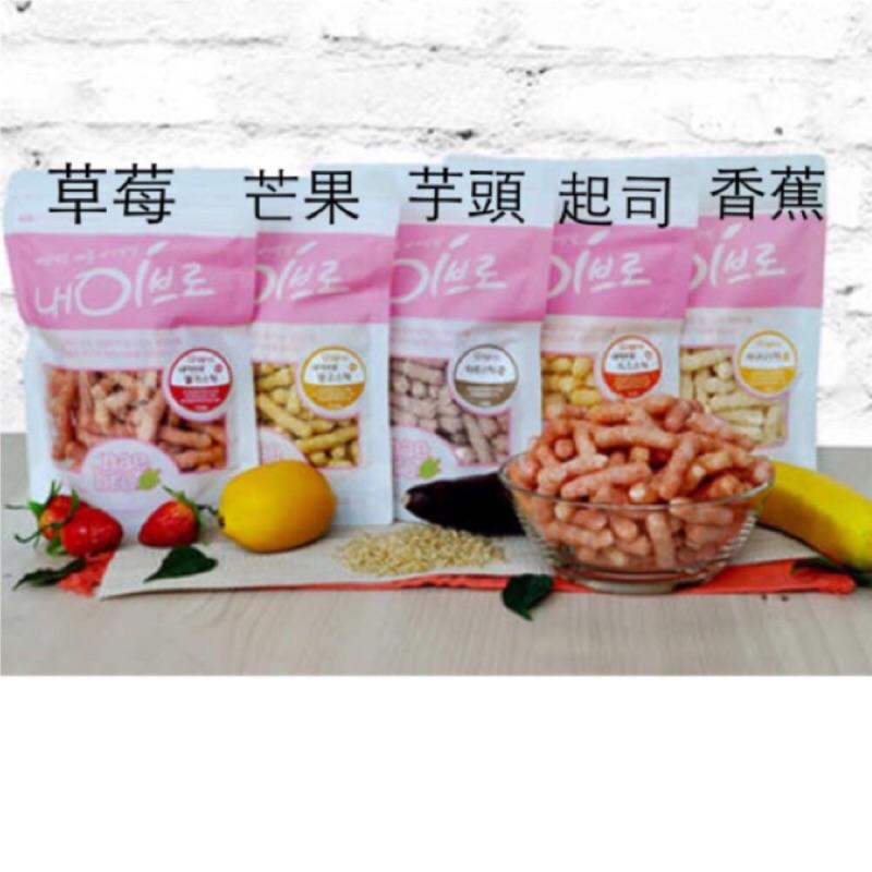 韓國Naebro 12m 點心棒米餅零食