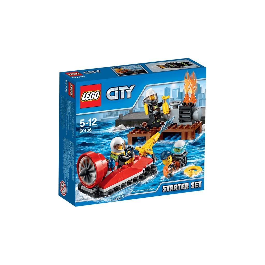 ~星宇玩具~LEGO 60106 _ CITY 城市系列消防入門套裝