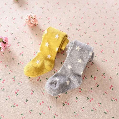 ~ ~五角星星棉質兒童保暖加厚內搭褲襪童襪保暖襪長褲