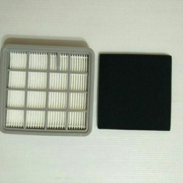 Electrolux 伊萊克斯ZMO1540 HEPA 濾網一黑一白整套500 元