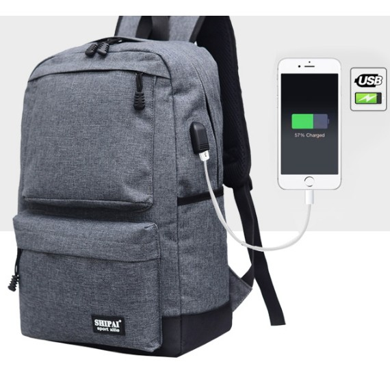 ✨後背包✨USB ✨電腦包✨手遊 ✨手機充電✨邊走邊充✨USB 充電包✨外置USB ✨手機