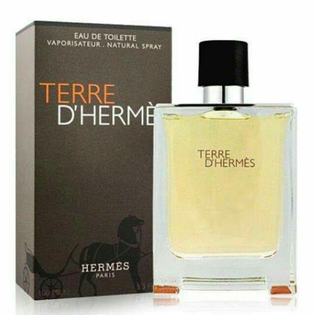 Hermes 愛馬仕大地男性淡香水Terre D Hermes 125ml
