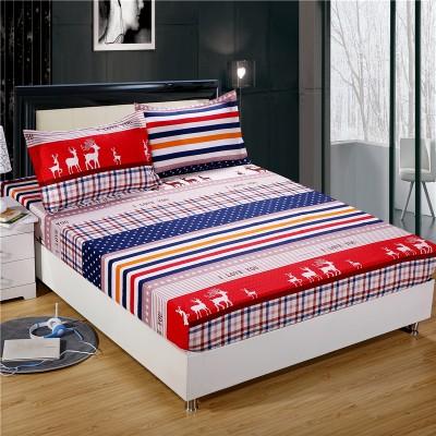 ~雙人加大~床罩床單床包防滑床墊套枕頭套寢具用品皇家神鹿