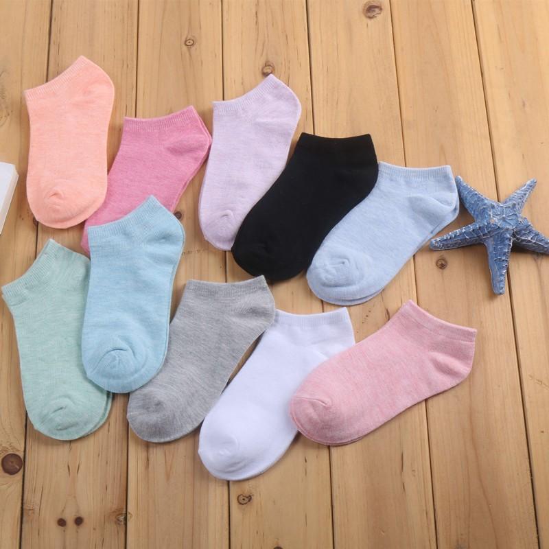 外銷 馬卡龍色船型襪女短襪