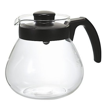 HARIO 可微波加熱耐熱玻璃壺1L TC 100B 壺身附刻度冷水壺花茶壺