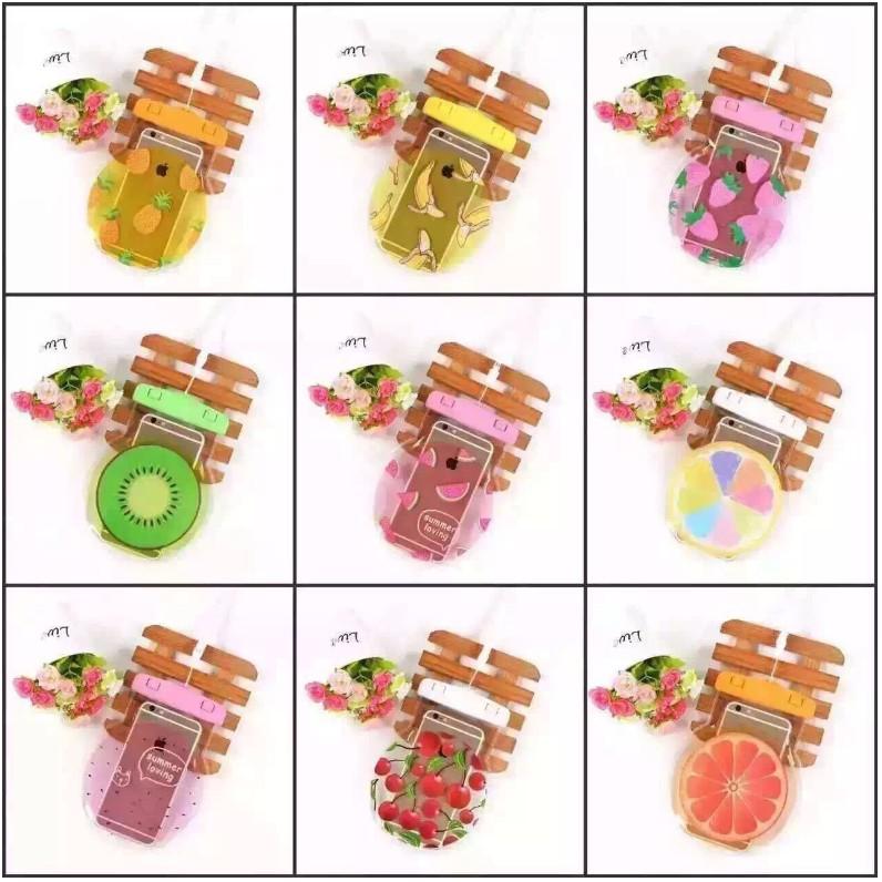 燈泡 夏日繽紛水果手機防水袋9 款