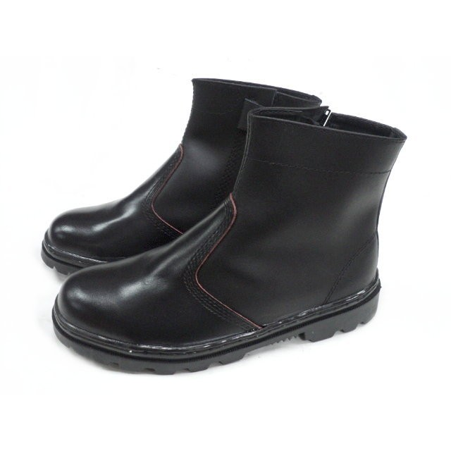 小兔商店雙帆503NS長筒拉練式H 級工作安全鞋鞋底鋼片防穿刺 製