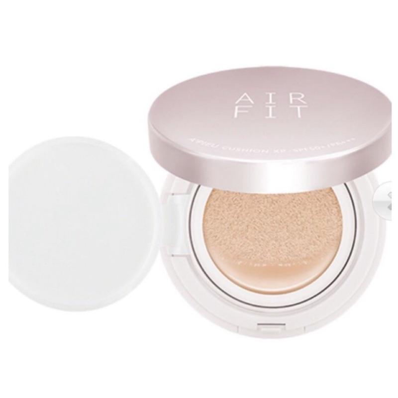 A PIEU AIR FIT 輕薄氣墊粉餅XP APIEU 遮瑕氣墊粉餅粉紅盒2015 N