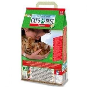 毛毛寵∞德國凱優Cat 's Best 凝結木屑砂~紅標~10L 可沖馬桶