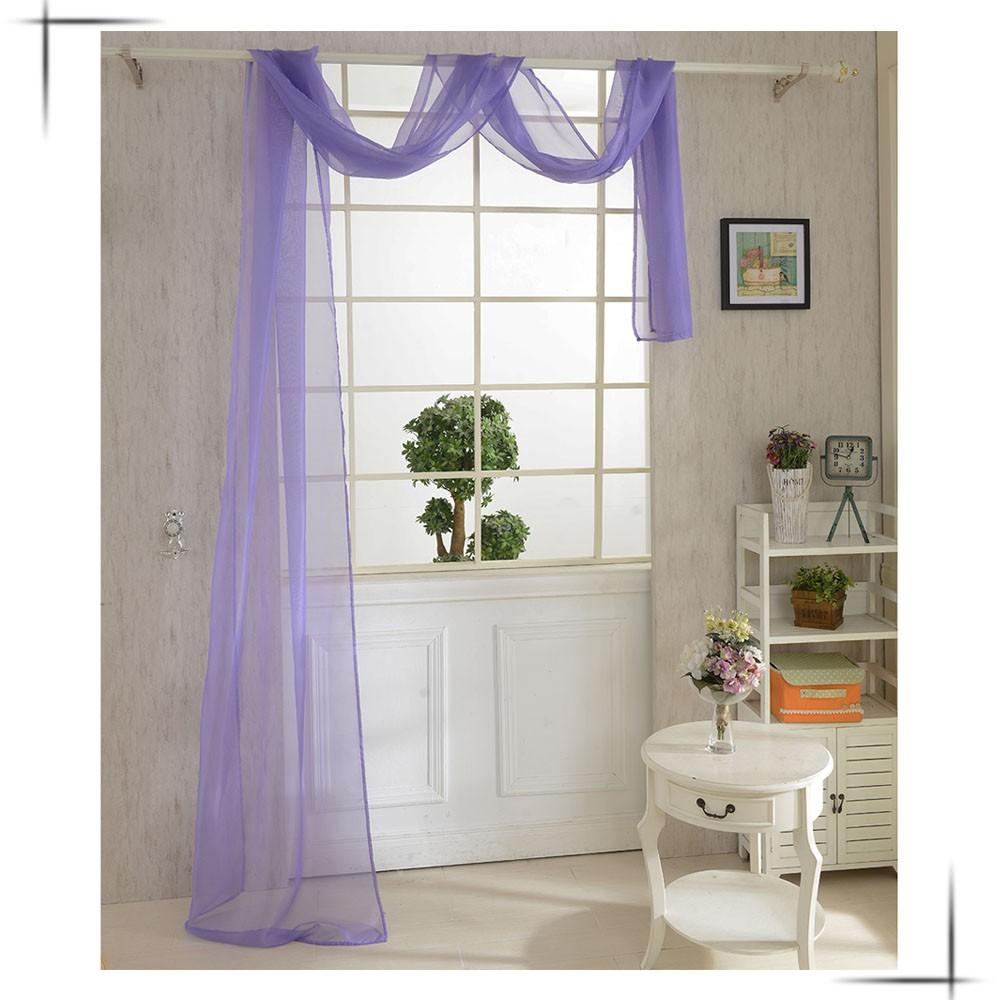 單層半遮光透光窗簾窗紗飄窗落地可愛花朵圖案門視窗房間裝飾客廳臥室兒童房臥室陽台