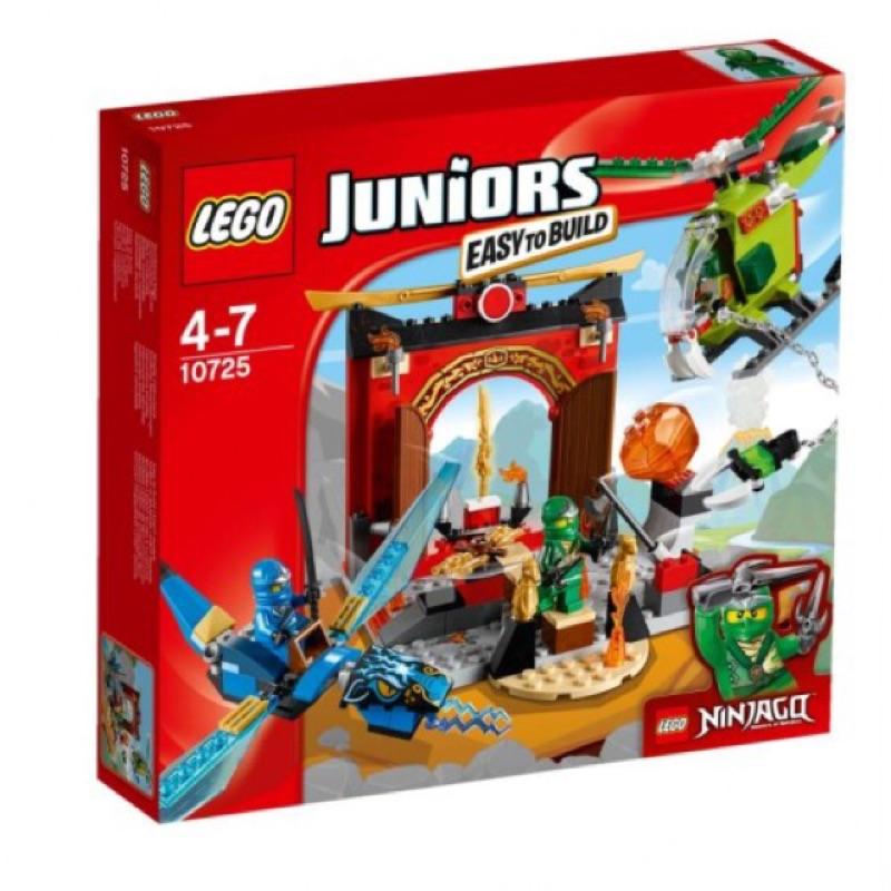Lego 樂高10725 Juniors 旋風忍者失落的廟宇