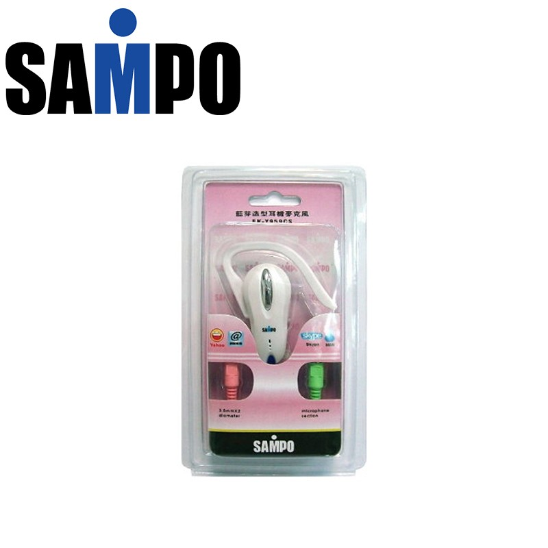 小昊子SAMPO 聲寶藍牙 單聲道耳機麥克風彈性舒適輕巧 EK Y959CS