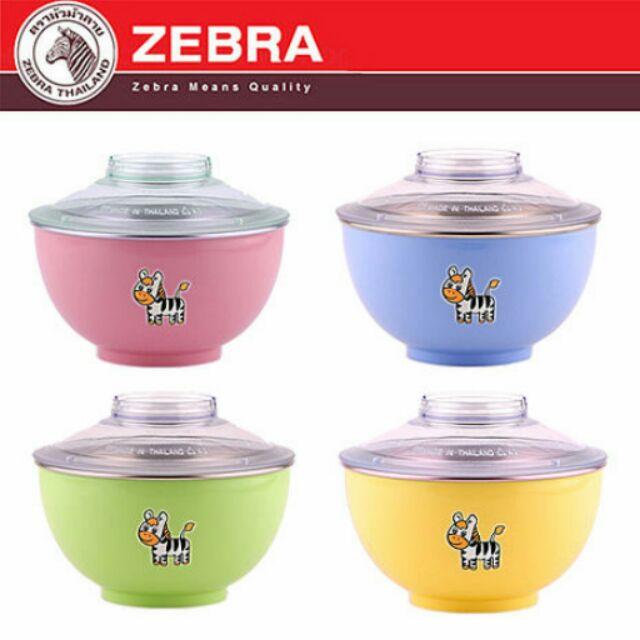 滿499  斑馬牌ZEBRA 彩色隔熱湯麵碗(1000ml )304 不鏽鋼