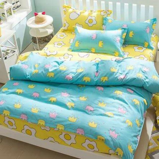 雙人床包枕頭套2 兩用被