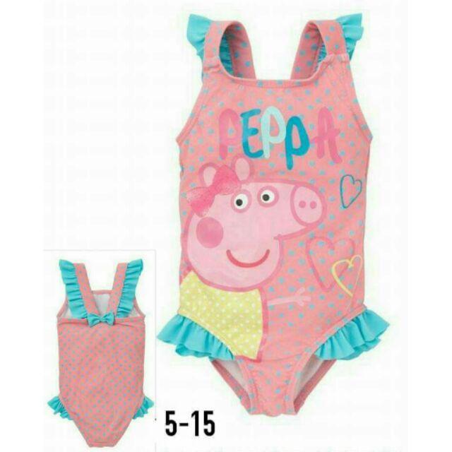 女童佩佩豬泳衣