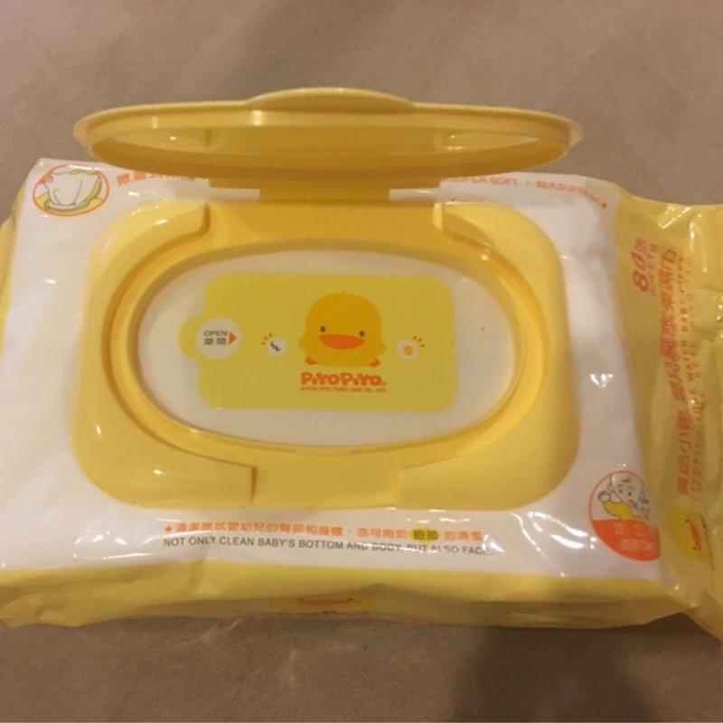 黃色小鴨EDI 純水濕紙巾80 抽 製包包有蓋 110 50 起