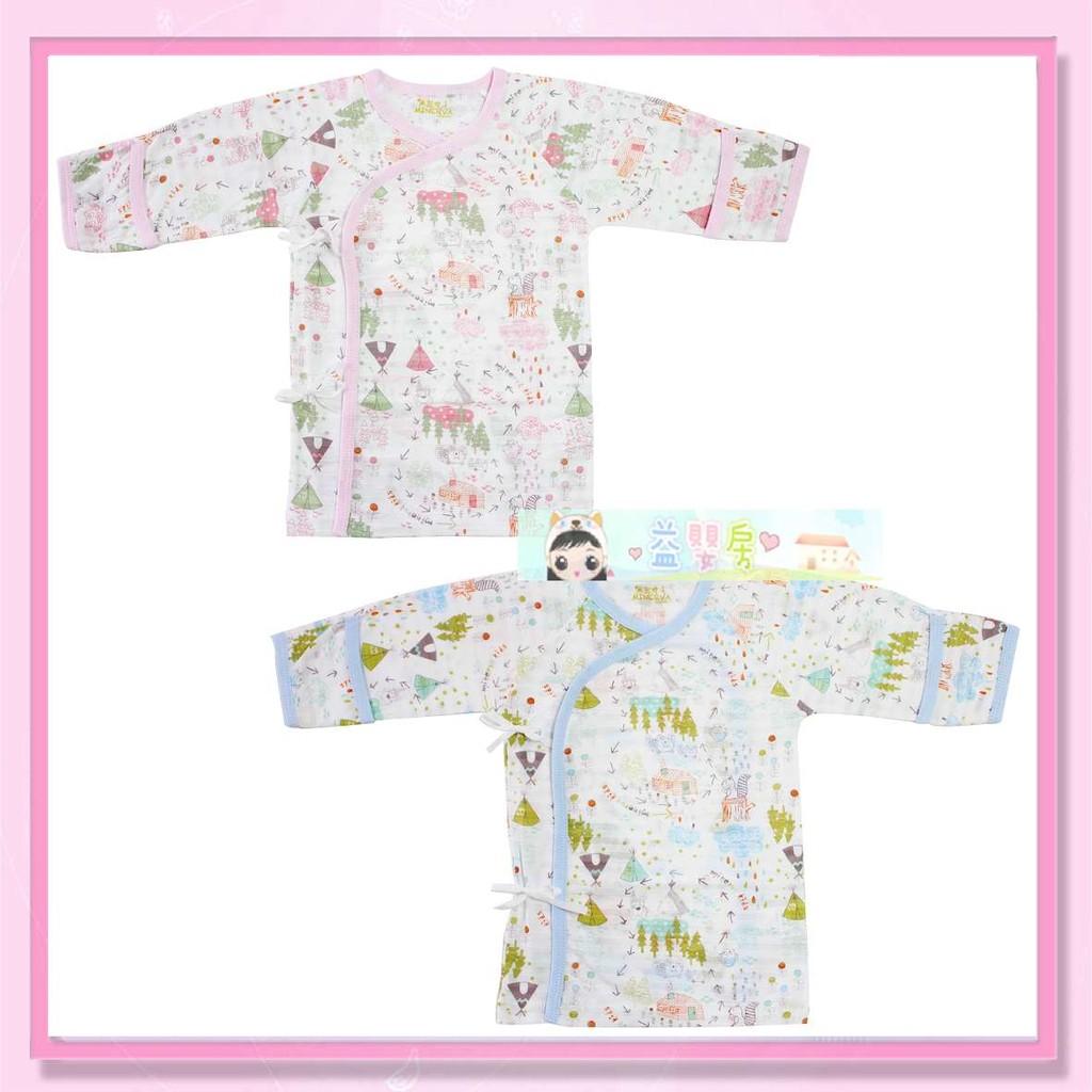 ~益嬰房~米諾娃星像綁帶衣服嬰兒上衣春夏薄長 不挑款 製袖口反折當手套