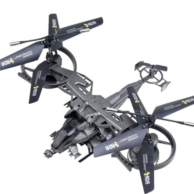 雅得ATTOP TOYS 遙控飛機阿凡達戰機四通道帶陀螺儀直升機航模型YD 718