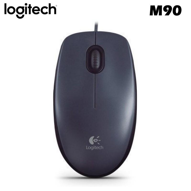 ~奇茂科技~含稅羅技羅技M90 光學滑鼠400dpi 解析度USB 有線滑鼠三年
