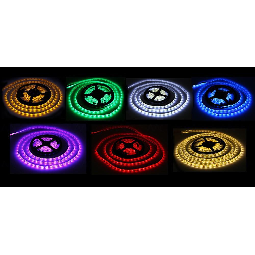 MOCA 7 顏色5 米12V 防水LED 燈帶300 LED 3528 SMD