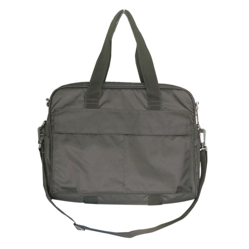 中國軍飛行頭盔袋黑色講義袋電腦公事包旅行袋都均適宜W 軍品小舖