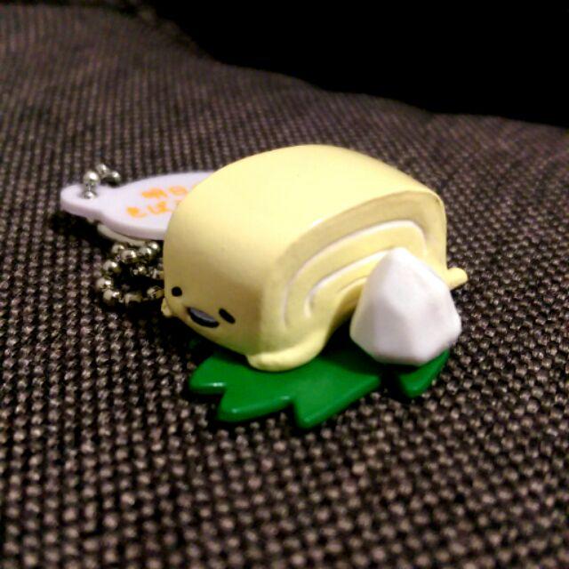 蛋黃哥懶懶蛋蛋黃君蛋卷壽司珠鍊吊飾扭蛋
