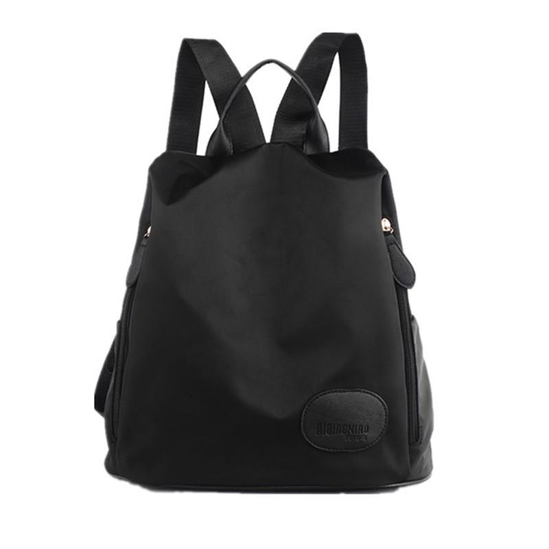 尼龍雙肩包女 背包女包潮牛津布帆布簡約百搭女士包包2016 背包街頭潮流電腦包書包後背包肩