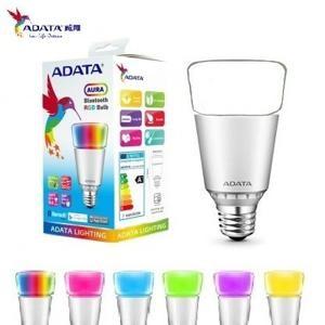 台製~威剛ADATA LED 7W 智慧型RGB 藍芽調光調色燈泡~光彩RW2 LED E