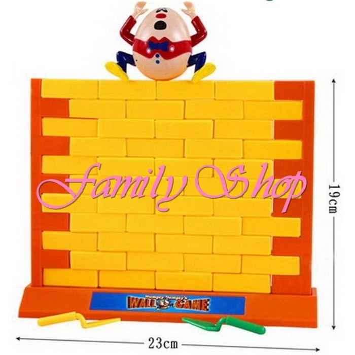 ~Family Shop ~ 桌遊小乖蛋拆牆遊戲砌磚牆遊戲兒童桌面遊戲桌遊益智玩具親子遊戲