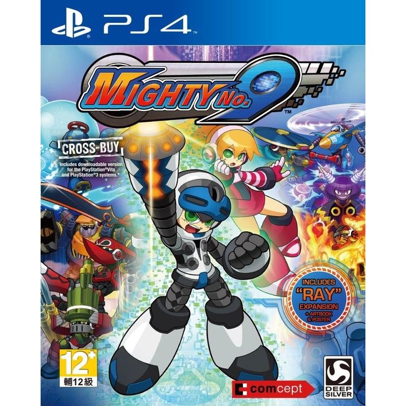 含RAY DLC 特典PS4 麥提9 號Mighty No 9 亞版中文版
